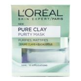 L'Oreal Pure Clay Mask 50ml Purity