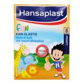 Hansaplast Elastic Fun 8s Kids