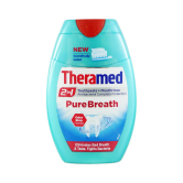 Theramed 2in1 Toothpaste + Mouthwash 75ml Pure Breath