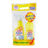 Kao Magiclean Bathroom Cleaner Lemon Set (Trigger 500ml+Refill 500ml)