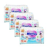 Merries Premium Tape Diapers X-Large 44s (4Packs)