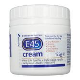 E45 Cream 125g Treatment for Dry Skin Conditions