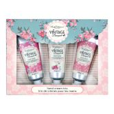 Body Collection Vintage Bouquet Hand Cream Trio Box Set