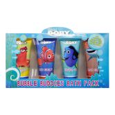 Disney Finding Dory Bubble Buddies Bath Pack Set
