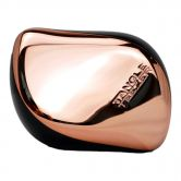 Tangle Teezer Detangling Hairbrush Compact Rose Gold Black-Smooth&Shine