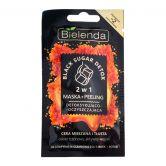 Bielenda Black Sugar Detox 2in1 Face Mask 8g