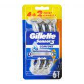 Gillette Sensor 3 Disposable Razor 4s+2s FOC