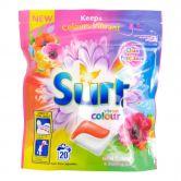 Surf Non-Bio Detergent 20 Capsules Vibrant Colour