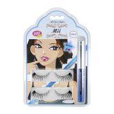 Mii Eyelashes 102+Eyeliner+Glue