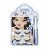 Mii Eyelashes 109+Eyeliner+Glue