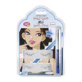 Mii Eyelashes 201+Eyeliner+Glue
