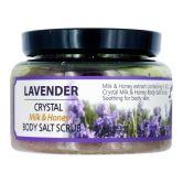 Sense of Care Crystal Milk & Honey Body Salt Scrub 390g Lavender