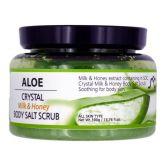 Sense of Care Crystal Milk & Honey Body Salt Scrub 390g Aloe