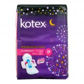 Kotex Soft and Smooth Overnight Wing 28cm 14S