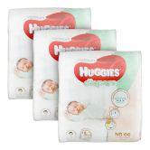 Huggies Platinum Diapers Newborn 66S (x3Packs)