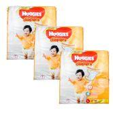 Huggies Gold Diapers Large 62S (1Carton=3pack)