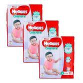 Huggies Silver Diapers Large 60S (1Carton=3pack)