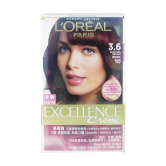 L'Oreal Excellence Crème 3.6 Dark Red Brown