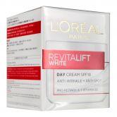 L'Oreal RevitaLift White Day Cream SPF18 Jar 50ml