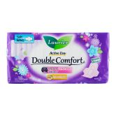Laurier Active Day Double Comfort Super Slim Wing 18s