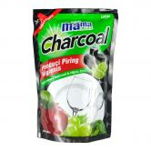 Mama Lemon Dishwashing 800ml Refill Charcoal Lime