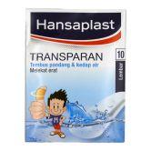 Hansaplast Transparent 10s