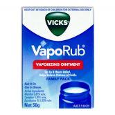 Vicks Vaporub Vaporizing Ointment 50g
