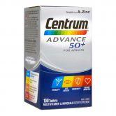 Centrum Advance 50+ Tablets 100s