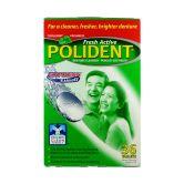 Polident Denture Cleanser  Fresh Active Express 36S