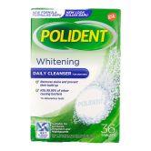 Polident Denture Cleanser Overnight Whitening 36S