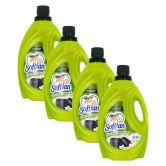 Softlan Fabric Conditioner (Green Charcoal) 3L (1Carton=4Bottle)