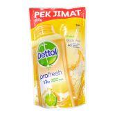 Dettol Profresh Shower Gel Refill 800g Fresh