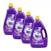 Breeze Liquid Detergent 3.8kg Colour Care (1Carton=4Bottle)