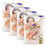 Drypers Touch Diapers Large 54S (4Packs)