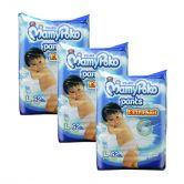 MamyPoko Extra Soft Jumbo Pants (Boys) Large 52S (1Carton=3pack)
