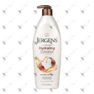 Jergens Hydrating Coconut Dry Skin Moisturizer 496ml