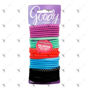Goody Hair Bobbles Ouchless Bright Dots 30pcs Pack