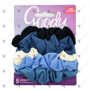 Goody Hair Bobbles Ouchless Scrunchies 5pcs Pack