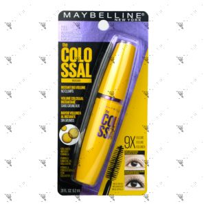Maybelline The Colossal Washable Mascara 231 Classic Black 9.2ml