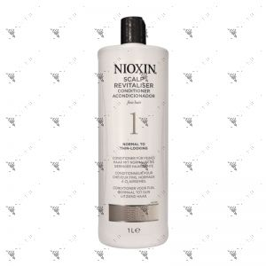 Nioxin 1 Conditioner 1L normal to thin looking