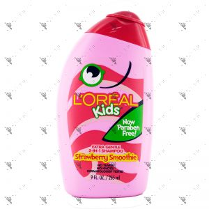 L'Oreal Kids Shampoo 265ml Strawberry Smoothing