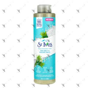 St.Ives Bodywash 650ml Sea Salt & Pacific Kelp Exfoliating