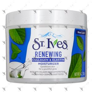 St. Ives Facial Moisturizer 10oz Collagen Elastin