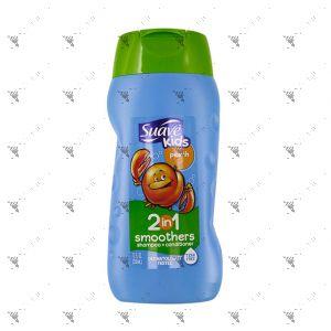 Suave Kids 2IN1 Shampoo+Conditioner 355ml Peach