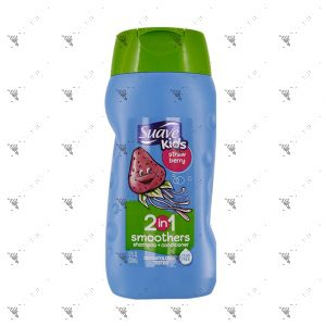 Suave Kids 2IN1 Shampoo+Conditioner 355ml Strawberry