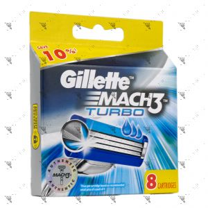 Gillette Mach 3 Turbo Dispenser 8s