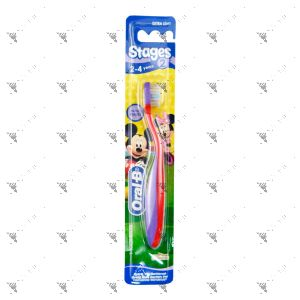 Oral-B Toothbrush Stage 2 Child Mickey