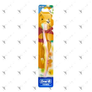 Oral-B Toothbrush Stage 1 Kids 4-24Months Baby Soft Winnie