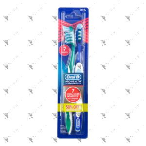 Oral-B Toothbrush Pro-Health w/ CrossAction Bristles 2s (Soft)