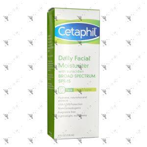 Cetaphil Daily Facial Moisturizer Sunscreen SPF15 118ml